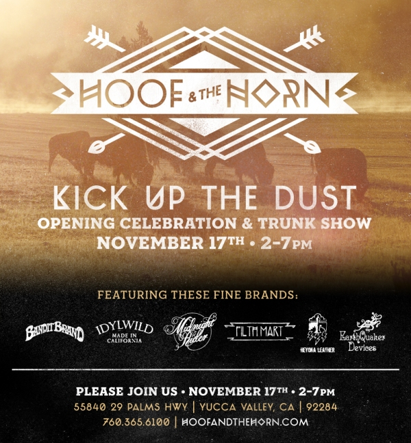 Kick Up The Dust Saturday at Hoof and the Horn